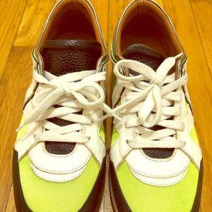 Authentic Jimmy choo tennis sneakers